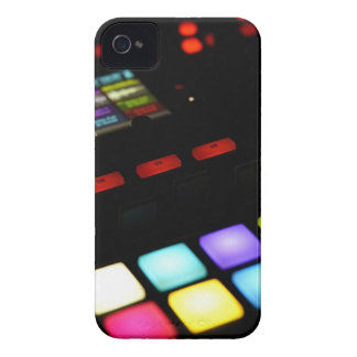Digital Music Dj Technology Sequencer Samples iPhone 4 Case