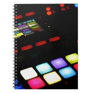 Digital Music Dj Technology Sequencer Samples Notebooks