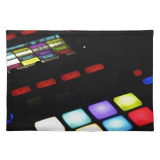 Digital Music Dj Technology Sequencer Samples Placemat