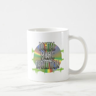 Digital Music Evolution Mug