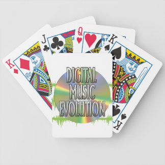 Digital Music Evolution Playing Cards
