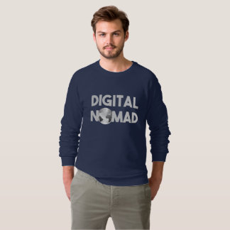 Digital Nomad Traveller Sweatshirt