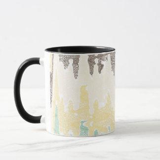 Digital painting mug