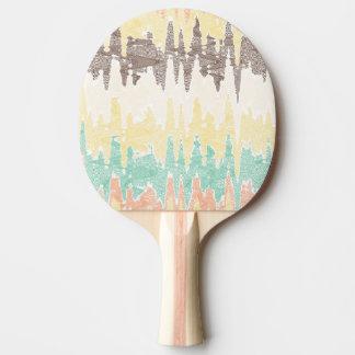 Digital painting Ping-Pong paddle