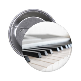 Digital piano keyboard 2 inch round button