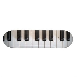 Digital piano keyboard custom skateboard