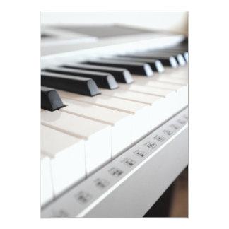 Digital piano keyboard announcement