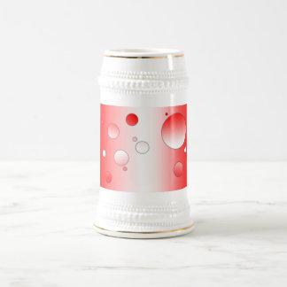 Digital Pop Art: Flag Colors of Canada Beer Stein