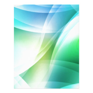 Digital Radial Colours Blur Glow Art Beautiful Des Personalized Letterhead