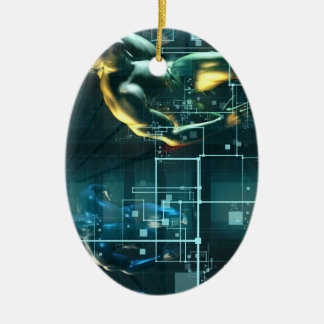 Digital Revolution and the Race for New Consumer Ceramic Oval Ornament