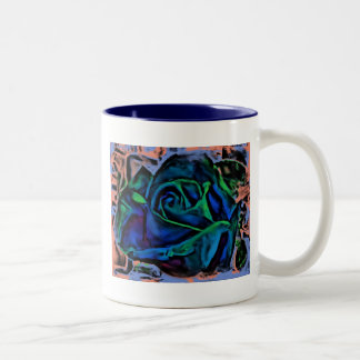 Digital Rose Mug