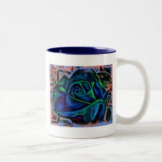 Digital Rose Mug