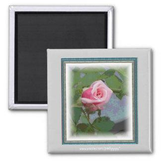 Digital Rosebud Magnet