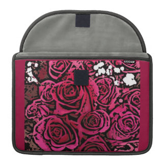 Digital Roses Macbook Sleeve