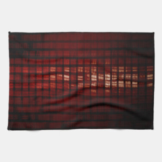 Digital Security and Network Firewall Surveillance Kitchen Towel