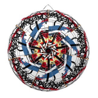 Digital spin dartboard