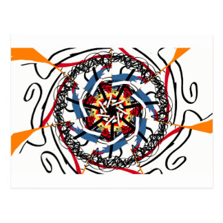 Digital spin postcard