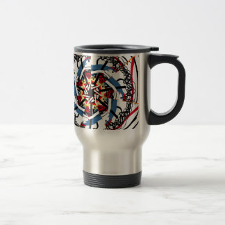 Digital spin travel mug