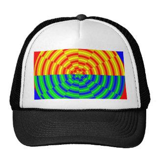 Digital Sunrise by Kenneth Yoncich Trucker Hat