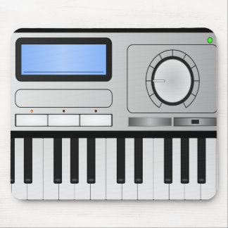Digital Synthesizer Keyboard Mousepad
