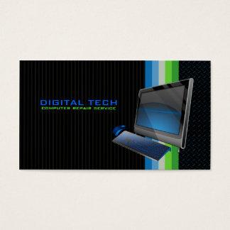 Digital Tech. Computer 2 Business Cards