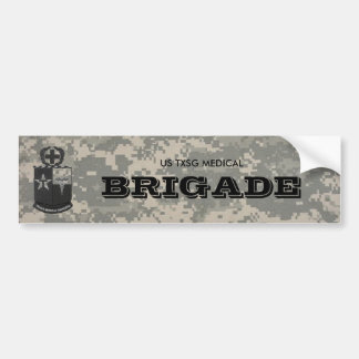 digital, texas medical Rangers BW, US TXSG MEDI... Bumper Sticker