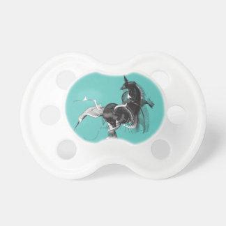 Digital Unicorn Baby Pacifier