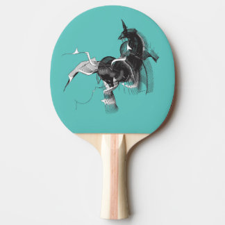 Digital Unicorn Ping-Pong Paddle