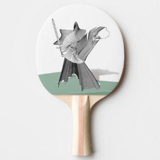 Digital Warrior Ping-Pong Paddle