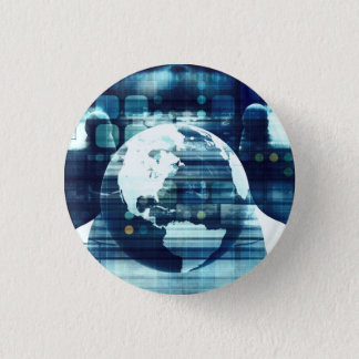 Digital World and Technology Lifestyle Industry 1 Inch Round Button