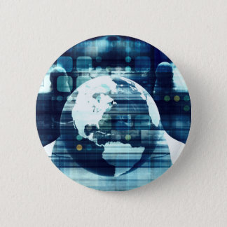 Digital World and Technology Lifestyle Industry 2 Inch Round Button