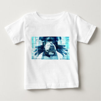 Digital World and Technology Lifestyle Industry Baby T-Shirt