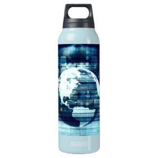Digital World and Technology Lifestyle Industry Insulated Water Bottle