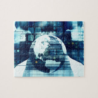 Digital World and Technology Lifestyle Industry Jigsaw Puzzle