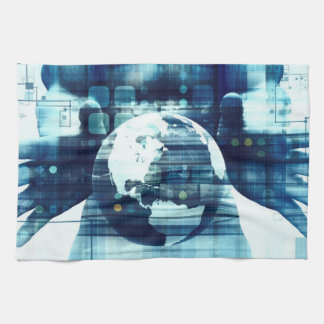 Digital World and Technology Lifestyle Industry Kitchen Towel