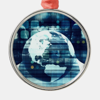Digital World and Technology Lifestyle Industry Metal Ornament