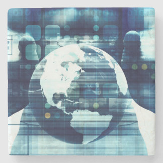 Digital World and Technology Lifestyle Industry Stone Coaster