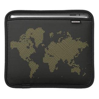 Digital World Map iPad Sleeve