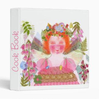 Digitalis faery Cook Book Binder