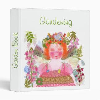 Digitalis faery Garden Book 3 Ring Binder