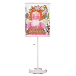 Digitalis faery pink lamp