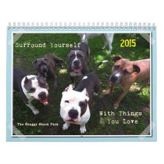 Digitally Artistic Shaggy Shack Calendar 2015
