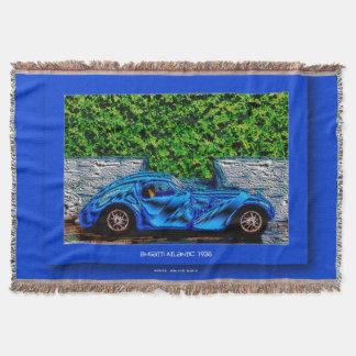 Digitally Artworks by Jean Louis Glineur: Type 57 Throw Blanket