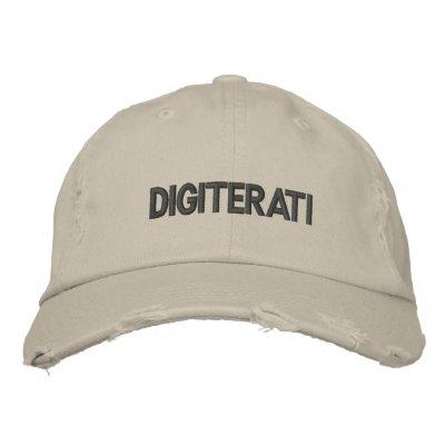 digiterati baseball cap