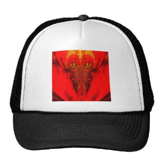 Digitla arts red trucker hat