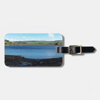 Digley Reservoir Luggage Tag