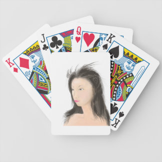 Dignified [japanese kanji] bicycle playing cards
