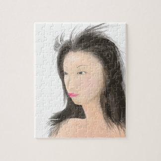 Dignified [japanese kanji] jigsaw puzzle