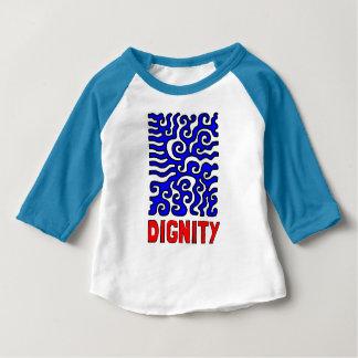 """Dignity"" Baby 3/4 Raglan T-Shirt"