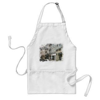 Dijon city street standard apron
